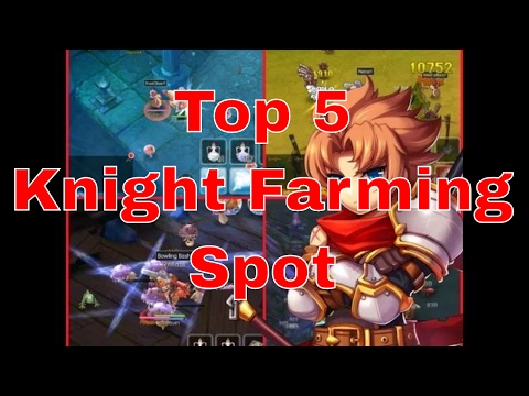 GunburnTV | Ragnarok Online Mobile: TOP 5 KNIGHT FARMING SPOT