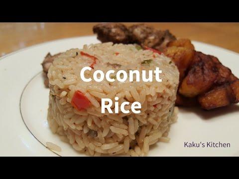 Nigerian Coconut Rice