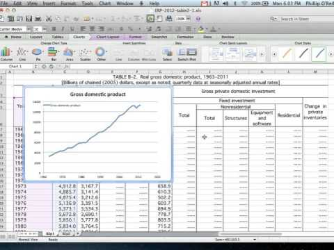 Excel 2011 Graphing Tutorial