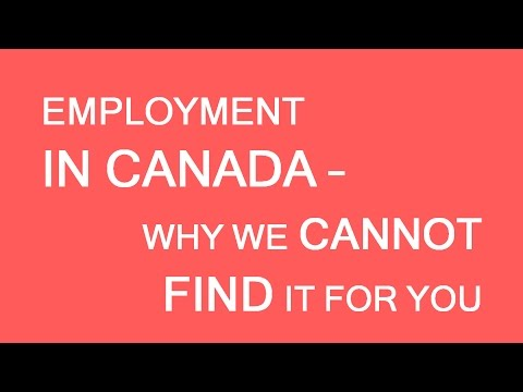 Can we find an employer in Canada for you? LP Group Canada