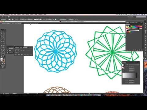 Duplicate/symmetrical shapes in Adobe illustrator