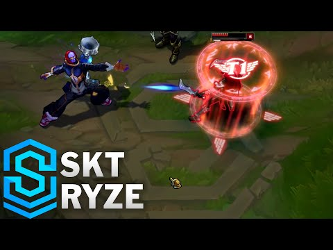 SKT Ryze Skin Spotlight - League of Legends