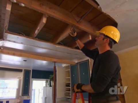 Load-Bearing Beam Installation - DIY Network