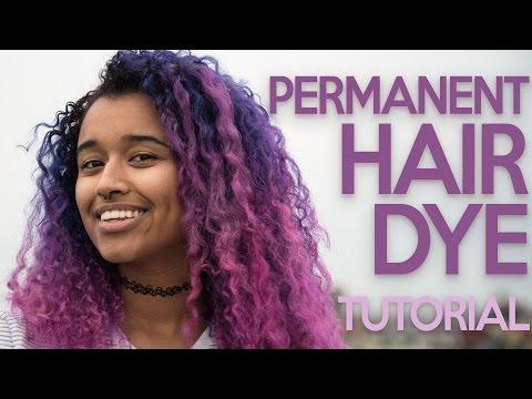 BRIGHT Hair Dye Tutorial Using *PERMANENT* Dyes! | Clairol Professional FLARE Me Hair Dye Tutorial