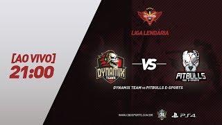 LIGA LENDÁRIA #3 - DYNAMIX TEAM VS PITBULLS E-SPORTS