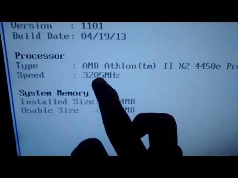 Overclook em AMD athlon x2 4450e processor de 2.80 para 3.20Ghz