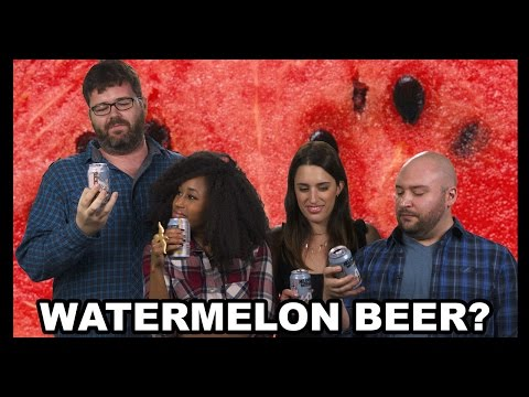 Hell or High Watermelon Wheat Beer Taste Test! - Why Would You Drink That?