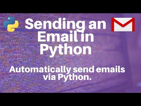 Sending an Email in Python via Gmail