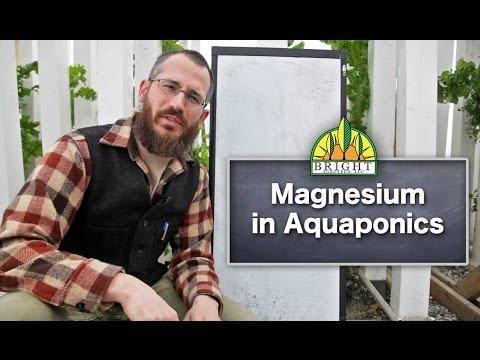 Magnesium in Aquaponics