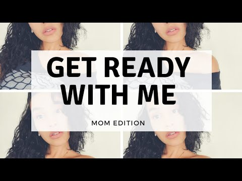 GRWM | My Go to MOM Look