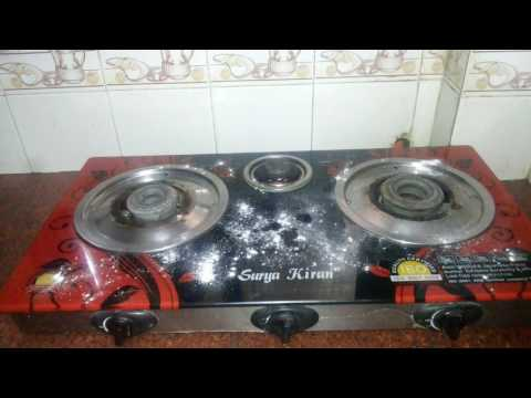 How to clean the gas stove in 1 min