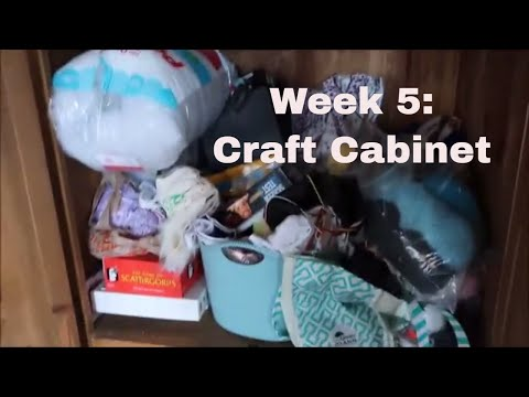 Week 5: The Craft Cabinet