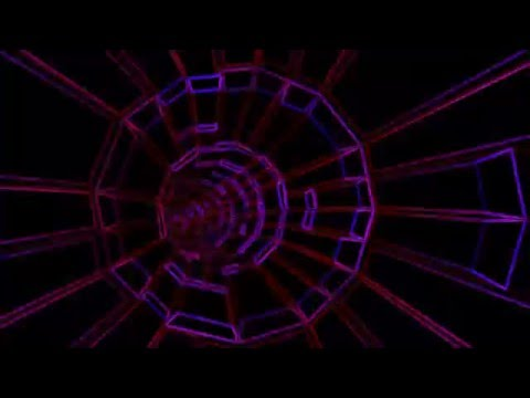3D neon tube animation