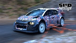Test Rallye Monte Carlo 2017 - Kris Meeke (C3 WRC) (HD)