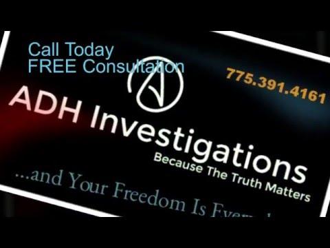 Private Investigator Carson City Nevada - Criminal Defense Investigator - video