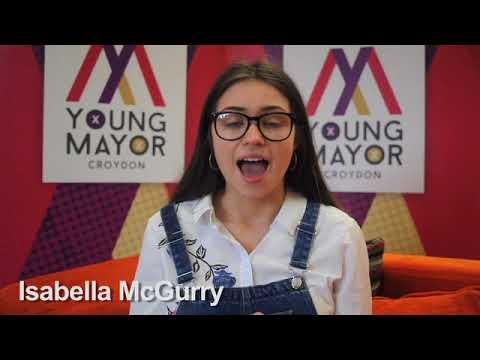 Croydon Young Mayor candidate - Isabella McGurry