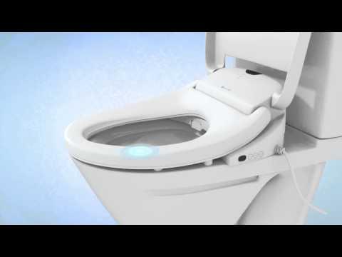 How the Brondell Swash 1000 Bidet Toilet Seat Works