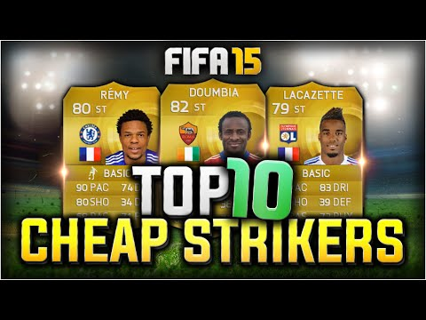 FIFA 15 - TOP 10 BEST CHEAP OVERPOWERED STRIKERS - FIFA 15 ULTIMATE TEAM