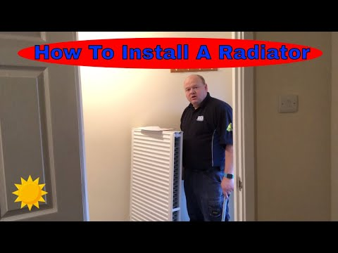 How to Install a Radiator Step by Step guide Day in the life Gas Plumber