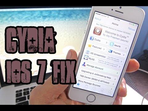 How To Fix Cydia Tweak Errors On iOS 7
