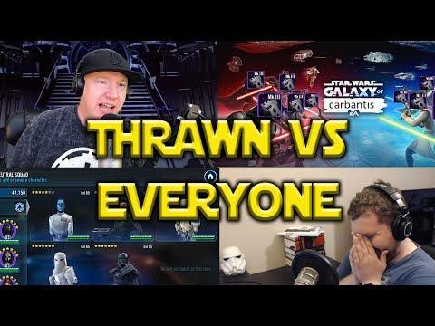 Star Wars: Galaxy Of Heroes - Thrawn VS Everyone