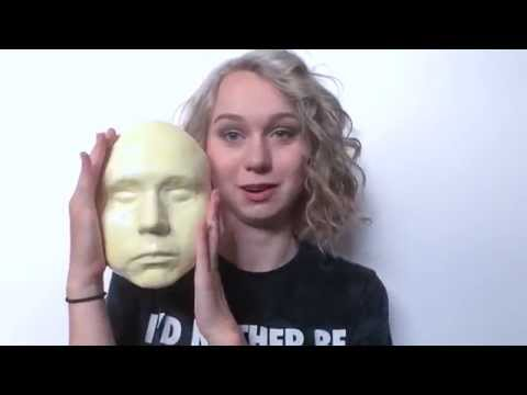 How to make a face cast on yourself