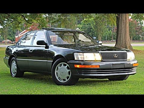 1993 Lexus LS400 Review