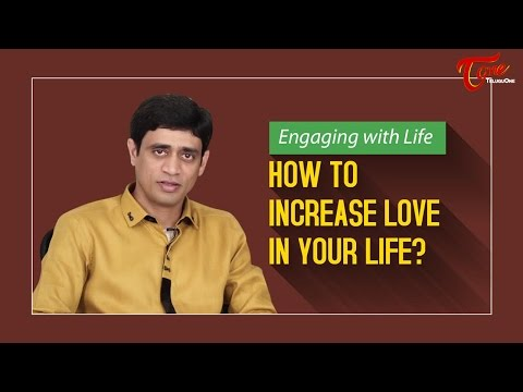How To Increase Love In Your Life ? || By Ramakrishna Maguluri