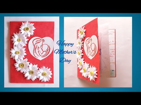 Mother's Day Card    Greeting Card idea for Mother's Day    easy to make