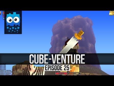 Cube-Venture Episode 25 : Cube World Alpha Let's Play! - Rock climbing is not fun!