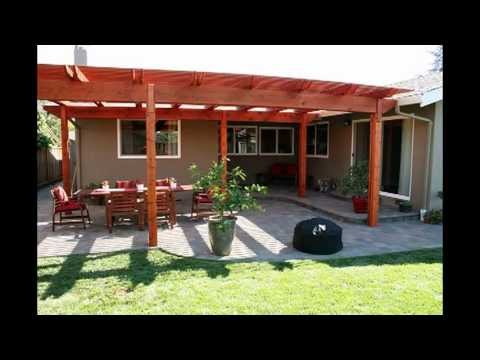 Building a Back Yard Patio with Pergola