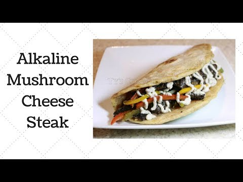 Mushroom Cheese Steak Dr. Sebi Alkaline Electric Recipe