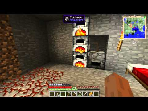Let's Play FTB ep5 - Better Storage and Smeltery