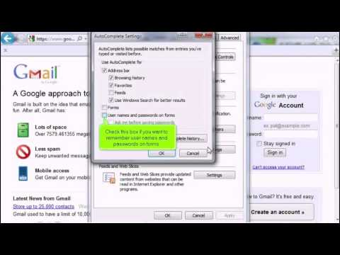IE 4 How to manage saved passwords in Internet Explorer