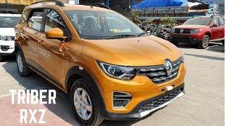 Renault TRIBER RXZ Top Model FULL Detailed REVIEW - Renault Triber Features, Interiors, Exterior