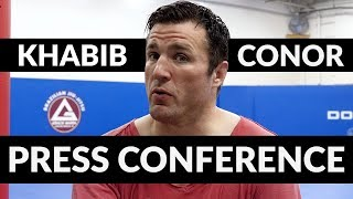 Press Conference Psychology: Conor McGregor vs Khabib Nurmagomedov.
