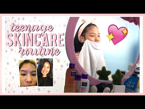 Teenage Skincare Routine! How I Get Rid of My Pimples (Philippines)