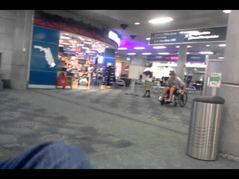 Fort Lauderdale airport wheelchair football League