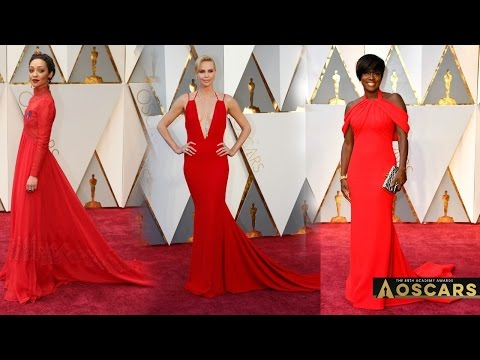 SCARLET RED at the OSCARS ACADEMY AWARDS 2017 - Inspired Makeup