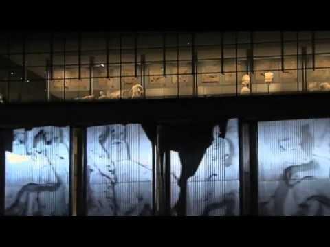 Acropolis Museum Opening Ceremonies Projection