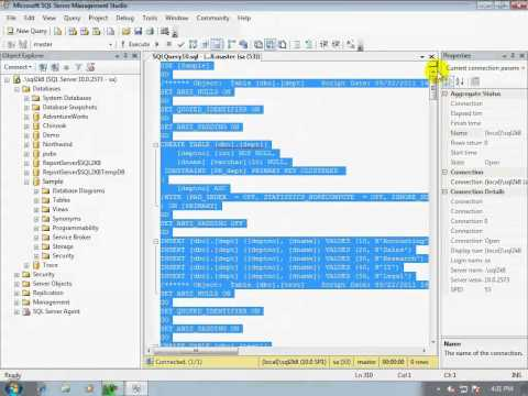 12-How to generate scripts for complete Microsoft SQL Server database (including data)