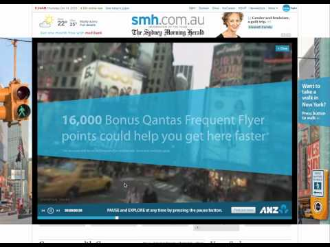 ANZ - Frequent Flyer Rich Media