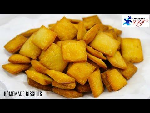 Homemade Biscuits Recipe In Telugu