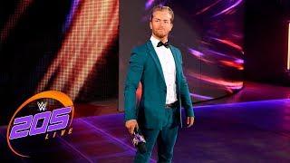 New WWE 205 Live GM Drake Maverick announces Cruiserweight Title Tournament: 205 Live, Jan. 30, 2018