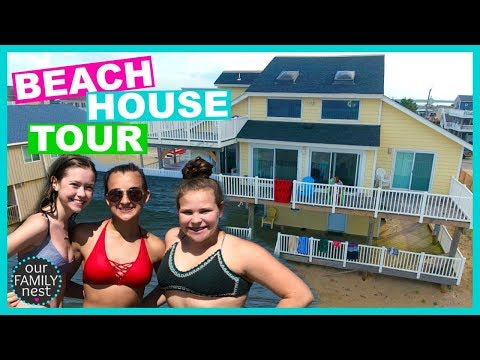 OUR BEACH HOUSE TOUR! SHOULD WE BUY IT?!
