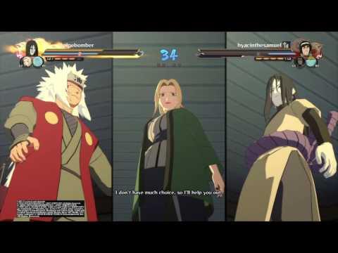 Naruto Ninja Storm 4   Online Team Battle #16 The 3 Legendary sannin