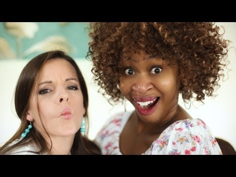 GloZell Talks Spanking on the Couch!!!