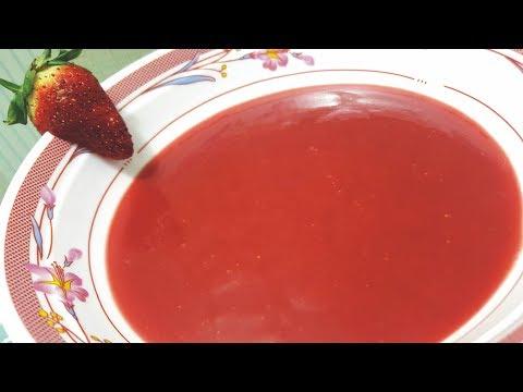 Homemade Strawberry Sauce By Sara's Haute Cuisine