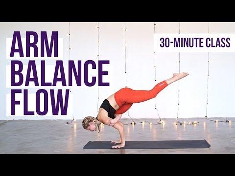 30-Minute Vinyasa Yoga Flow with Arm Balances