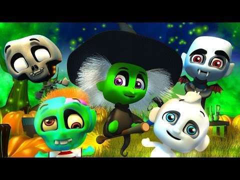 Halloween Night | Halloween Song | Spooky Fun Song for Kids by Little Treehouse